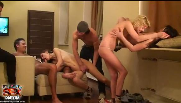 Student sex párty – první část