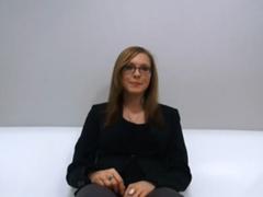Alenka z Prahy na castingu
