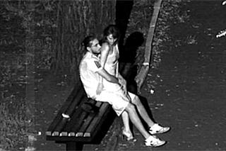 Tajné šukání v parku