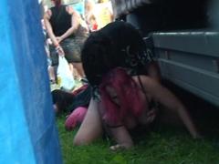 Skrytá kamera na festivalu