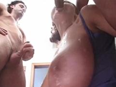 Double penetration pro maminu