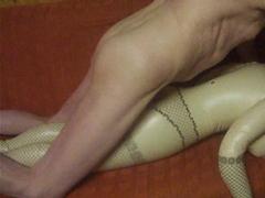 Tvrdý sex s nafukovací pannou