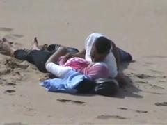 Arabové šukají na pláži