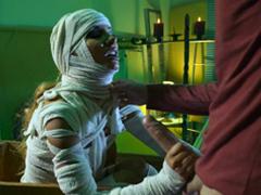 Hororové porno – nadržená mumie