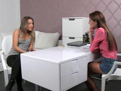 České dívky – lesbický casting