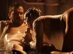 Romantický a procítěný sex v dešti