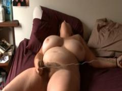 Domácí porno – masturbace boubelky