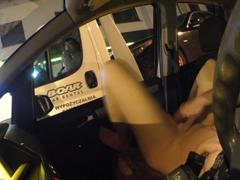 Masturbace za jízdy při cestě na dovču