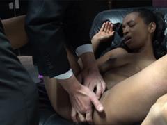 Žhavé orgasmy černé kundičky