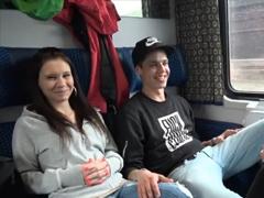 České porno – společné šukání ve vlaku