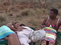 Takhle vypadá grupáč v Africe