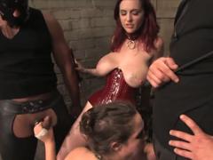Dvě hodiny tvrdého BDSM mučení