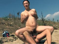 Zvrhlý sex na pláži s úchylama