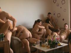 Český group sex – opilí amatéři
