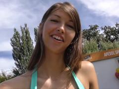 České porno – sbalí holku na koupališti