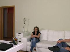 Tlumočník při šukání na českém castingu