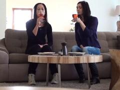 České lesbičky natočí domácí porno