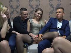 České porno – domácí swingers grupáč