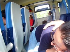 Kuřba na veřejnosti v plném vlaku
