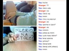 Polák pohoní s holkou přes Omegle