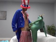 Socha svobody šuká se strýčkem Samem