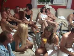 Česká swingers párty – skupinové šukání