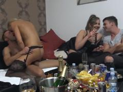 Česká mega swingers párty na bytě