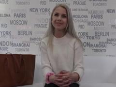 Czech Casting – panna Natálka z F-M