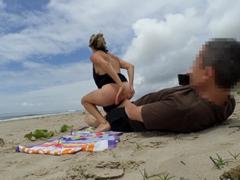 Nestydí se a mrdají na veřejné pláži